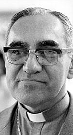Salvadoran Archbishop Oscar Romero was an outspoken critic of human rights abuses in El Salvador who was gunned down while celebrating Mass in 1980. CNS file photo