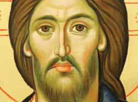 This icon of Christ is featured on the prayer card for National Vocation Awareness Week 2014.