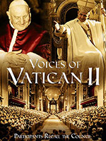 Voices of Vatican II DVD by CNS, picture of DVD cover