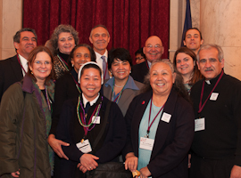 Members of the CSMG 2013 California delegation visit Congress.