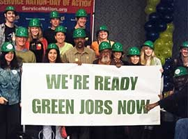 green jobs now labor day statment 2014