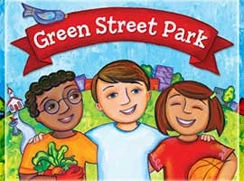 Green Street Park cover art.