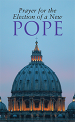 English prayer card for the election of a new pope thumbnail