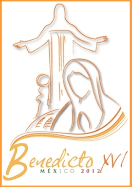 mexican apostolic visit 2012 logo right column