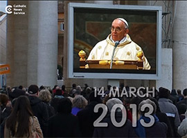 Pope Francis' five-year anniversary