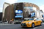 Pope Francis will celebrate Mass on September 25, 2015, at the legendary Madison Square Garden arena in New York City.  CNS Photo/Gregory A. Shemitz