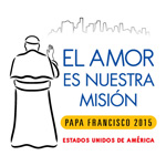 Papal Visit 2015 Logo USA 150 Spanish