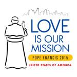 Papal Visit 2015 Logo USA 150
