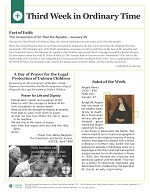 Catholic Current Samples - Bulletin Insert