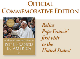 Pope Francis Commerative Book on the 2015 Papal Visit to the United States