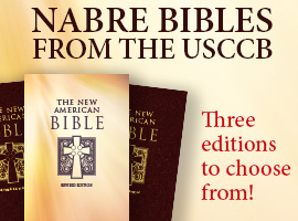 Ad for NABRE Bibles