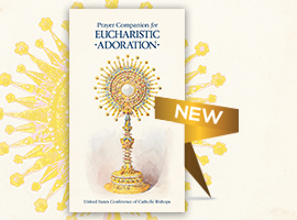 Prayer Companion for Eucharistic Adoration Book