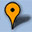 Google Map Marker Icon 32x32 Orange