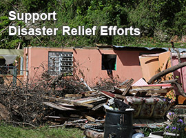 Support Disaster Relief Efforts