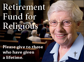 2013 Retirement Fund for Religious campaign photo