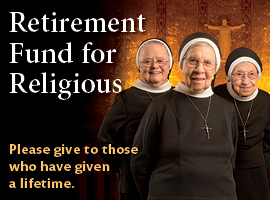 The annual appeal for the Retirement Fund for Religious is held in most dioceses on the second Sunday of Advent.