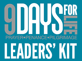 Many quick & easy tools for sharing #9DaysforLife!