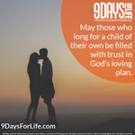Join 9 Days for Life at www.9daysforlife.com!