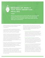 Bridges of Mercy for Post-Abortion Healing