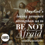Pray for Life: Be Not Afraid