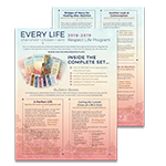 Respect Life Program 2018 - Summary Sheet
