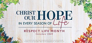 Respect Life Program 2019 Homepage image