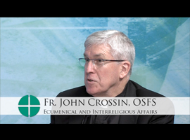 "Watch a ""3 Minutes"" segment in which Fr. John Crossin discusses the Jewish background of Jesus"