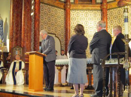 The Catholic-Reformed Baptism Agreement public signing- St Marys Cathedral in Austin