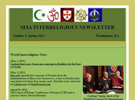 Ecumenical and Interreligious Affairs Quarterly eNewsletter