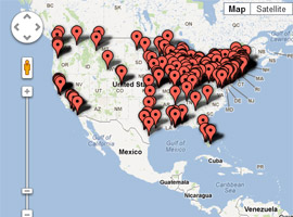 USCCB Interactive Map