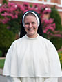Sister Amata Christi Lippert, O.P., is a newly professed member of the Dominican Sisters of St. Cecilia community.