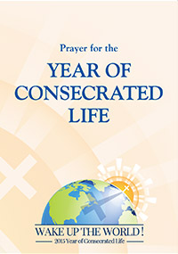 Year consecrated life prayer english front thumbnail