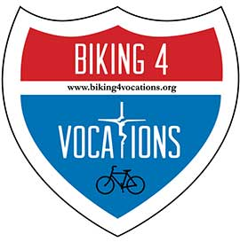 Biking for Vocations is a project involving five Catholic priests and seminarians on a 1,400 mile pilgrimage.
