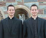 Twin brothers Gary and Todd Koenigsknecht are members of the Ordination Class of 2014.