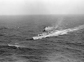 The USS O'Callahan.  U.S. Government photo.