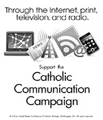 Support the Collection for the Catholic Communication Campaign - Clip Art 2