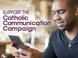 The collection for the Catholic Communication Campaign is taken up in most dioceses on the Sunday between Ascension Thursday and Pentecost
