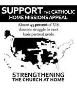 Support the Catholic Home Missions Appeal - Clip Art 2