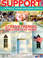 Support the Catholic Home Missions Appeal - Poster