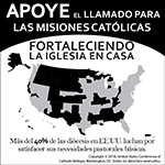 Catholic Home Missions Appeal 2019 - Clip art Spanish