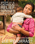 Support the Catholic Relief Services Collection - Print Ad Color Spanish