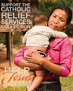 Support the Catholic Relief Services Collection - Print Ad Color