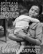 Support the Catholic Relief Services Collection - Print Ad B