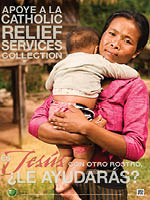 Support the Catholic Relief Services Collection - Poster Spanish