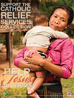 Support the Catholic Relief Services Collection - Poster