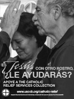 Catholic Relief Services Collection - Ad BW Spanish