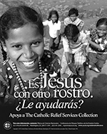 Catholic Relief Services Collection - Print Ad Greyscale - Spanish