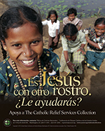 Catholic Relief Services Collection - Print Ad - Spanish