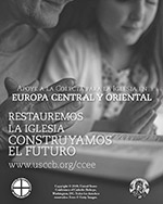 Collection for the Church in Central and Eastern Europe 2019 - Ad BW Spanish