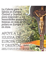 Collection for the Church in Central and Eastern Europe 2019 - Clip art Spanish